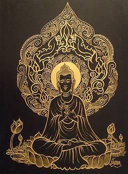 Buddha by Aung Min Min