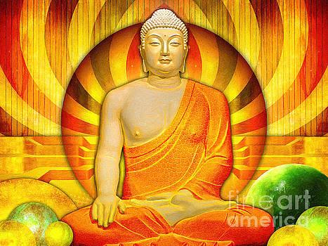 Buddha Balance by Khalil Houri