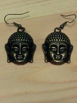 Buddha Earrings by Kendell Tubbs