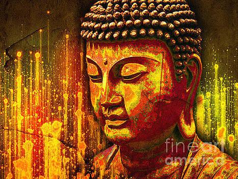 Buddha Eclipse by Khalil Houri