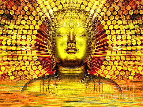 Buddha Effulgence by Khalil Houri