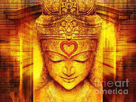 Buddha Entrance by Khalil Houri