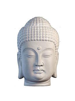 Buddha head - Korean  by Terrell Kaucher