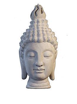 Buddha head - Sukhothai by Terrell Kaucher