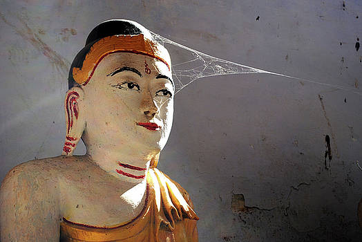 Buddha, Hpa An Caves, Myanmar by Nate Stein