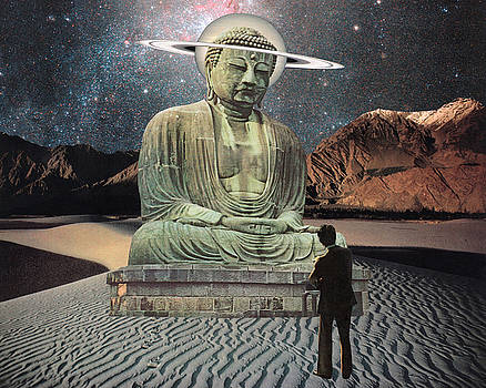Buddha in Saturn by Starcrow Astrology