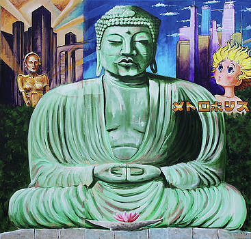 Buddha in the Metropolis by Charles Bickel