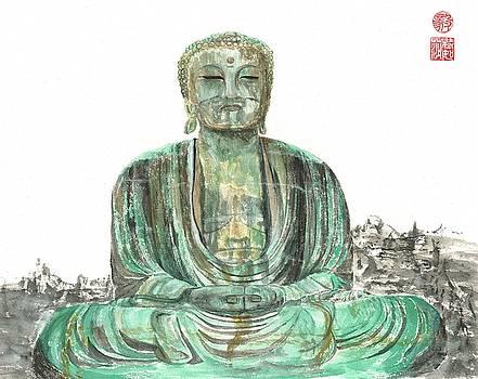 Buddha of Kamakura statue by Terri Harris