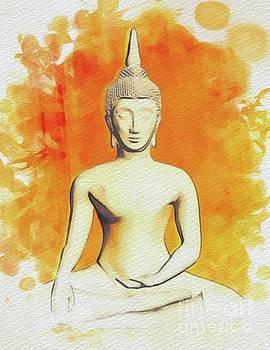 Pierre Blanchard - Buddha Serene