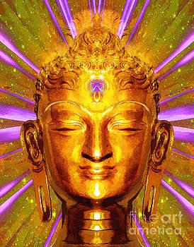 Buddha Smile by Khalil Houri