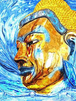Buddha Surf by Khalil Houri