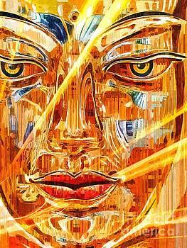 Buddha Titanium by Khalil Houri