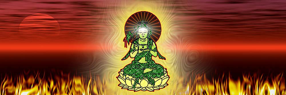 Buddha by Travis Burns