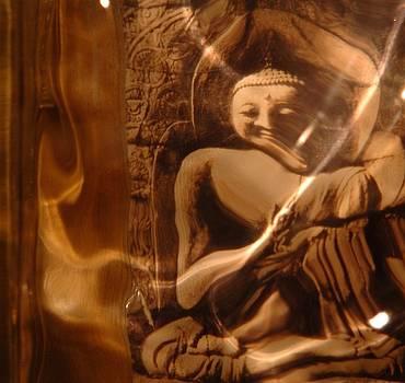 Buddha Under Glass by Jon Benson
