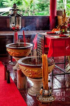 Adrian Evans - Buddhist Incense