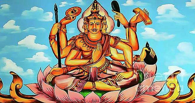 Buddhist Story Depiction by Ian Gledhill