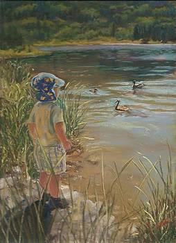 Budding Wildlife Expert by Harriett Masterson