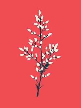 Buds - Pink by David Lange