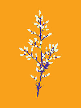Buds - Yellow by David Lange