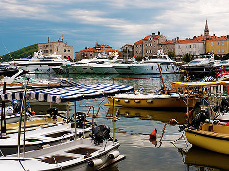 Budva Harbour by Rae Tucker