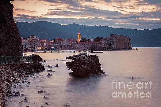 Budva old town sunrise by Sophie McAulay