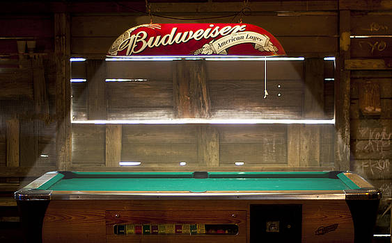 Budweiser Light Pool Table by Brian Kinney