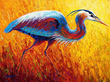 Marion Rose - Bue Heron 2