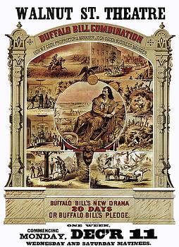 Daniel Hagerman - BUFFALO BILL THEATER SHOW 1882