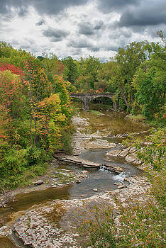 Buffalo Creek in the Fall by Guy Whiteley
