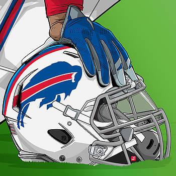 Buffalo football by Akyanyme Jorge Servin