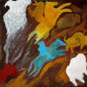 Buffalo Hunt by Will Logan
