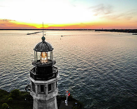 Buffalo Lighthouse View by Colin Collins