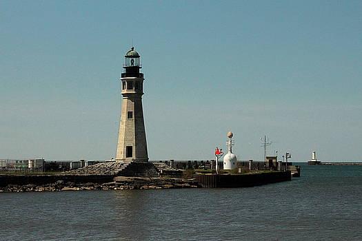 Buffalo Lighthouses by Beverly Kobee