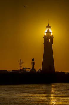 Chris Bordeleau - Buffalo Main Light Sunset