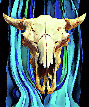 Buffalo Skull  by Gary Grayson