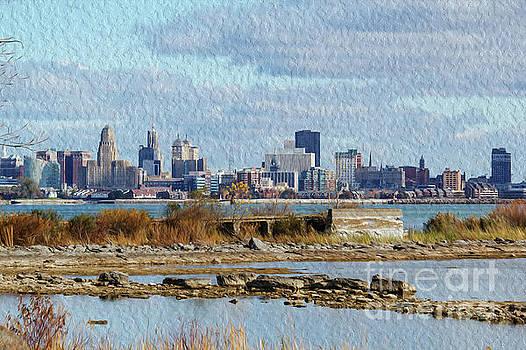 Buffalo Skyline by Linda Joyce
