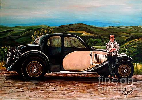 Bugatti T-57 Ventoux 1935 by Jose Mendez