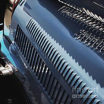 Bugatti Type 35 Louvers by Curt Johnson