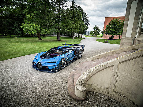 Bugatti Vision GT by George Williams