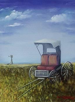 Buggy in Winter by Gene Gregory