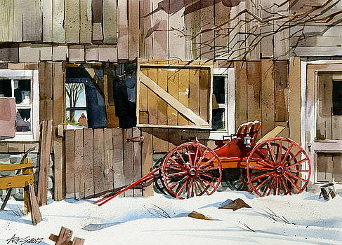 Buggy 'n Barn by Art Scholz