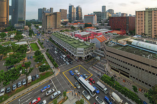 Bugis Village Junction in Singapore Entertainment District by David Gn