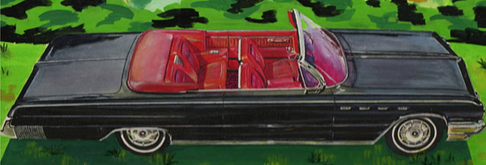 Buick Convertible Water Color Test by Frank Hunter
