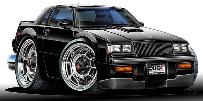 Buick Grand National by Maddmax