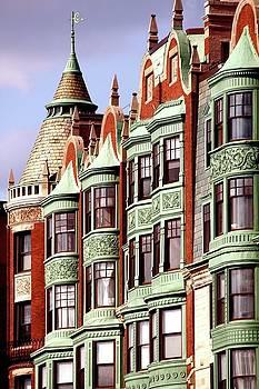 building in Boston by Natalia Radziejewska