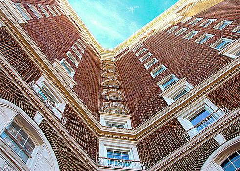 Building Meets Blue Sky by Walter E Koopmann