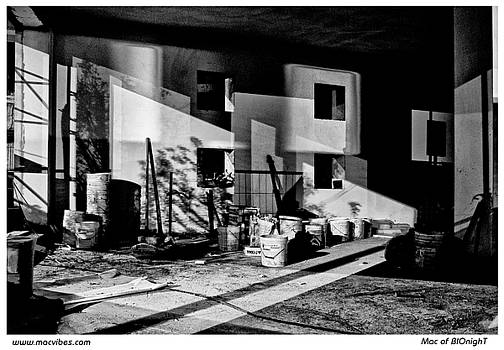 Building Site At Night by Mac of BIOnighT