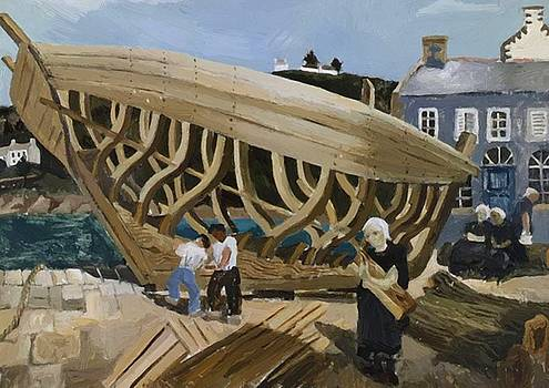 Wood Christopher - Building The Boat Tr Boul 1930