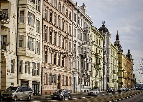 Heather Applegate - Buildings Along the Vltava