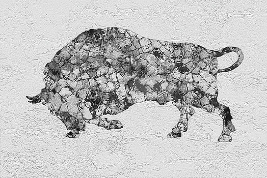 Bull Buffalo by Jack Zulli
